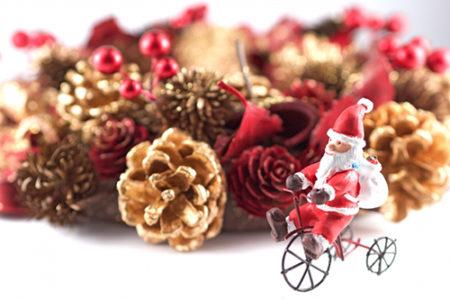 クリスマスツリーで華やかに♪